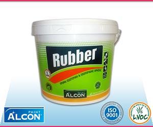πλαστικό χρώμα Alcon Rubber